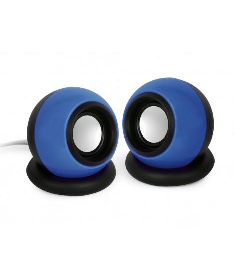 Głośniki przewodowe Gembird SPK-AC-B (niebieskie)