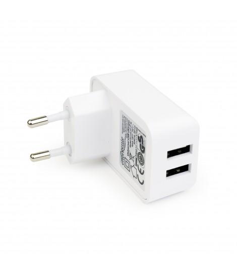 Ładowarka sieciowa USB EnerGenie EG-U2C2A-01-W