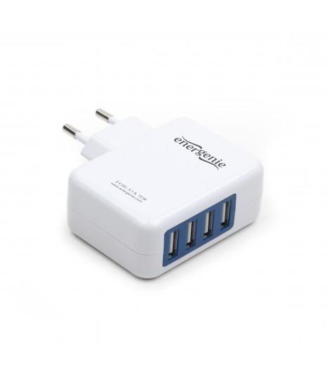 Ładowarka sieciowa USB EnerGenie EG-U4AC-01