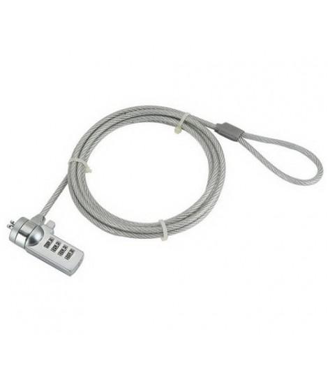 Linka zabezpieczająca Gembird LK-CL-01 do laptopa zamykana na czterocyfrowy kod (1,8 m)