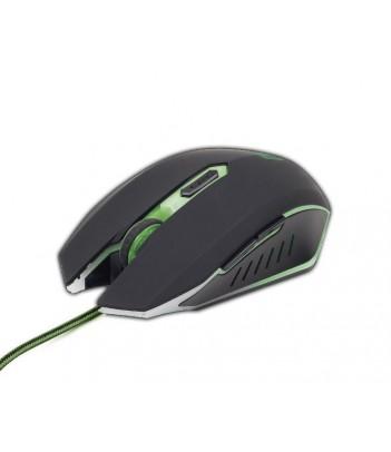 Mysz gamingowa Gembird MUSG-001-G (zielone podświetlenie)