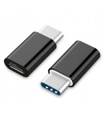 Adapter USB-C-micro USB-A (CM/AF) Gembird A-USB2-CMmF-01