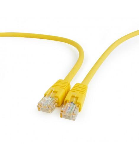 Kabel sieciowy UTP Gembird PP12-0.5M/Y kat. 5e, Patch cord RJ-45 (0,5 m)