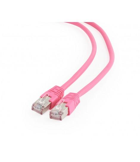 Kabel sieciowy FTP Gembird PP6-1M/RO kat. 6, Patch cord RJ-45 (1 m)