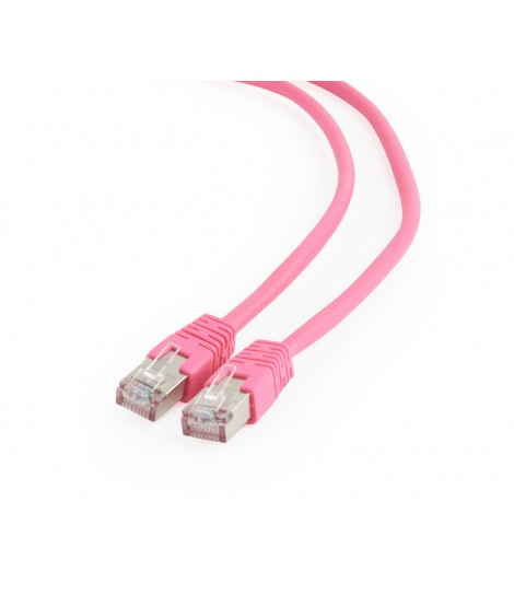 Kabel sieciowy FTP Gembird PP6-0.25M/RO kat. 6, Patch cord RJ-45 (0,25 m)