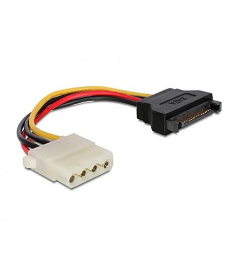 Kabel zasilający SATA-Molex Gembird CC-SATA-PS-M (0,15 m)