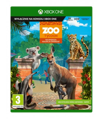 Gra Xbox One Zoo Tycoon: Ultimate Animal Collection