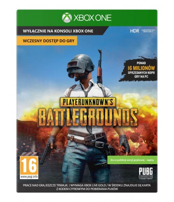 Gra Xbox One PlayerUnknown's Battlegrounds Game Preview Edition