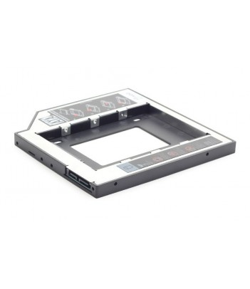 "Adapter, ramka na dysk HDD i SSD 5.25"" do 2.5"" Gembird MF-95-01 (Outlet)"