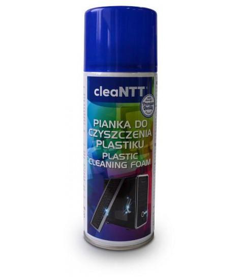 Pianka cleaNTT CLN0021 do czyszczenia plastiku, 400 ml