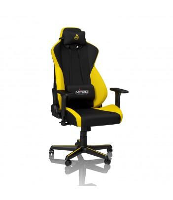Fotel dla gracza Nitro Concepts S300 (żółty)