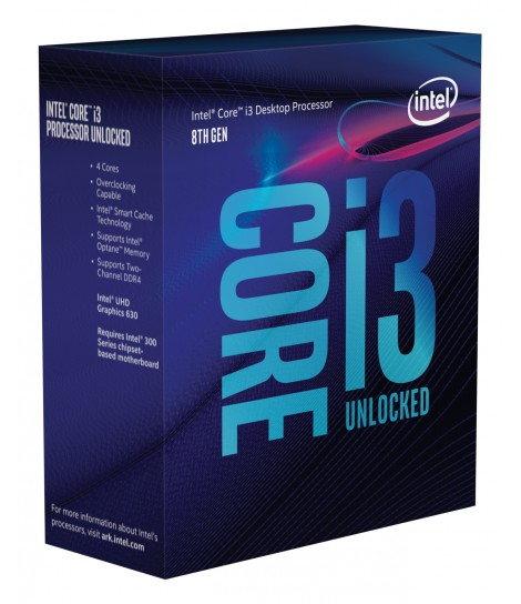Procesor Intel® Core™ i3-8350K (8M Cache, 4.00 GHz)