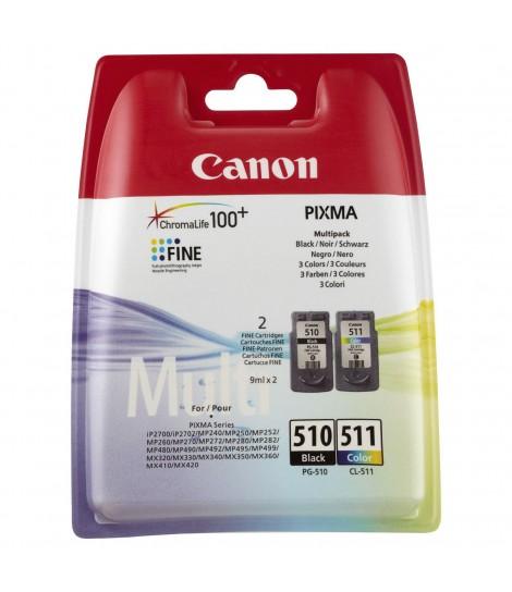 Zestaw tuszy Canon PG-510 + CL-511 C/M/Y/BK