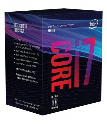 Procesor Intel® Core™ i7-8700 (12M Cache, 3.20 GHz)