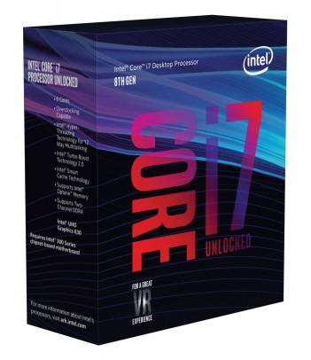 Procesor Intel® Core™ i7-8700K (12M Cache, 3.70 GHz)
