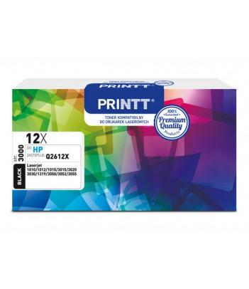 Toner PRINTT do HP NTH12XBXL (Q2612X) czarny 3000 str.