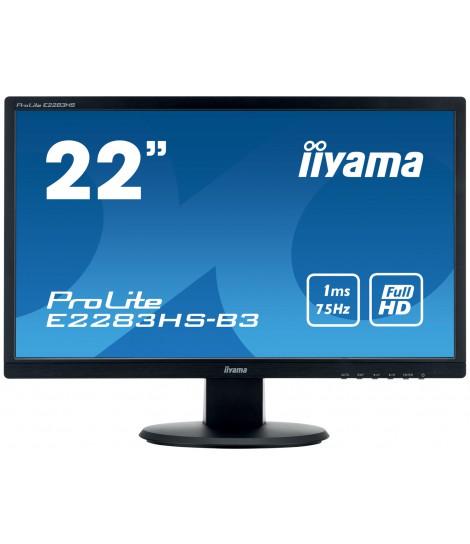 """iiyama 21.5"""" TN E2283HS-B3 (GWARANCJA ZERO MARTWYCH PIXELI)"""