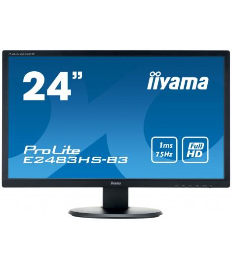 """iiyama 24"""" TN E2483HS-B3 (GWARANCJA ZERO MARTWYCH PIXELI)"""