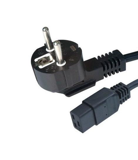 Kabel zasilający serwerowy IEC 320 C19 Gembird PC-186-C19 (1,8 m)