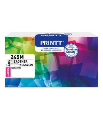 Toner PRINTT do BROTHER NTB245M (TN-241/245M) magenta 2200 str.