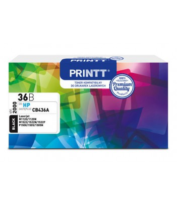 Toner PRINTT do HP NTH36B (CB436A) czarny 2000 str.