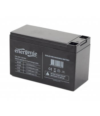 Akumulator żelowy, uniwersalny dla UPS EnerGenie BAT-12V7AH