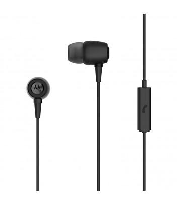 Słuchawki douszne Motorola Earbuds Metal (czarne)