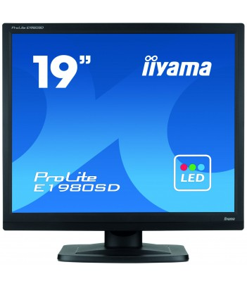 """iiyama 19"""" TN E1980SD-1 (GWARANCJA ZERO MARTWYCH PIXELI)"""