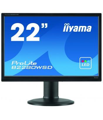 iiyama 22'' TN B2280WSD (GWARANCJA ZERO MARTWYCH PIXELI)