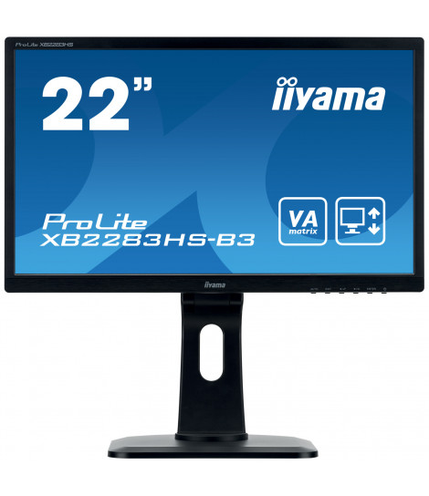 "iiyama 21.5"" VA XB2283HS-B3 (GWARANCJA ZERO MARTWYCH PIXELI)"