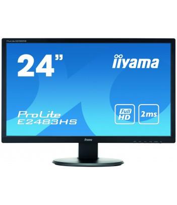 """iiyama 24"""" TN E2483HS-B1 (GWARANCJA ZERO MARTWYCH PIXELI)"""