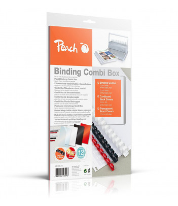 Zestaw opraw do bindowania Peach PB100-14 (36 szt.)