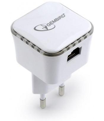 Wzmacniacz sygnału WiFi Gembird 300Mb/s biały