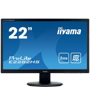 """iiyama 21.5"""" TN E2282HS-B1 (GWARANCJA ZERO MARTWYCH PIXELI)"""