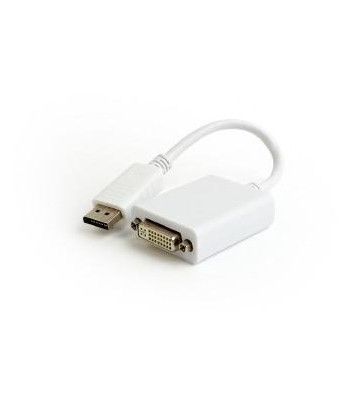 Adapter DisplayPort do DVI Gembird (biały)