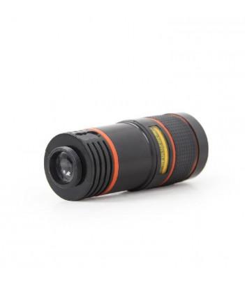 Obiektyw klipsowy do telefonu zoom optyczny x8 Gembird TA-ZL8X-01 (czarny)