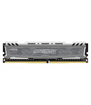 Pamięć RAM Crucial Ballistix Sport LT Gray 4GB DDR4 2400MHz