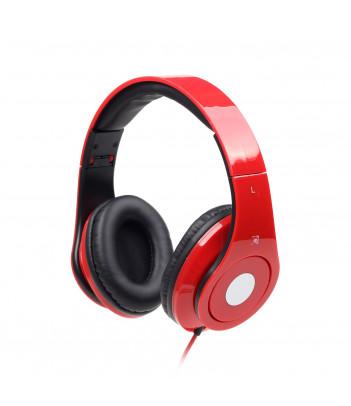 """Słuchawki Gembird """"Detroit"""" MHS-DTW-R (czerwone)"""