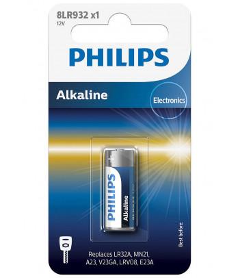Bateria pastylkowa alkaliczna Philips mini Alkaline 8LR932 (1 szt.)
