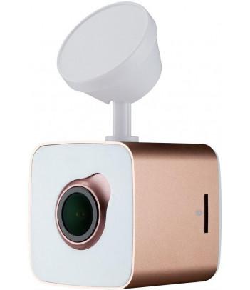 Wideorejestrator Prestigio RoadRunner CUBE (biało-różowy)