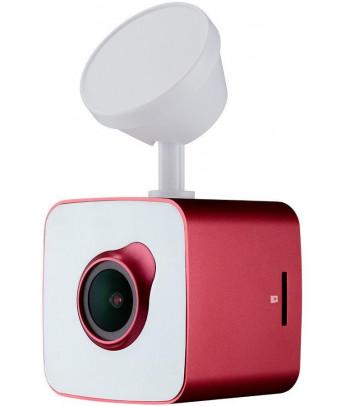 Wideorejestrator Prestigio RoadRunner CUBE (czerwono-biały)