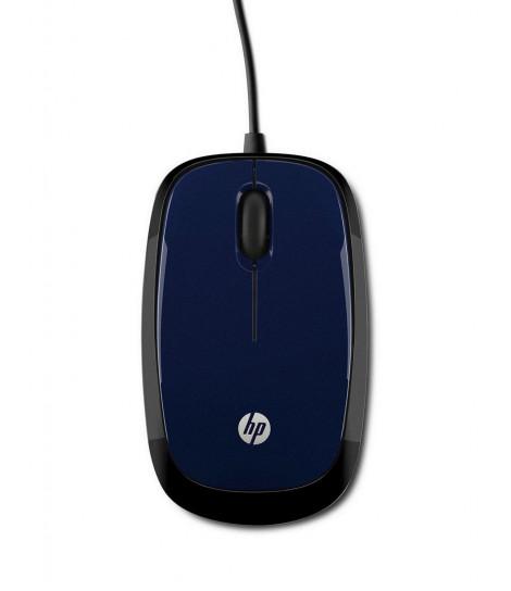 Mysz HP X1200 (niebiesko-czarna)