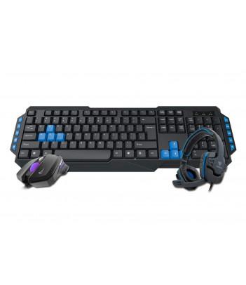 Zestaw gamingowy 3 w 1 Gamdias Poseidon E1 Combo (klawiatura, mysz i słuchawki)