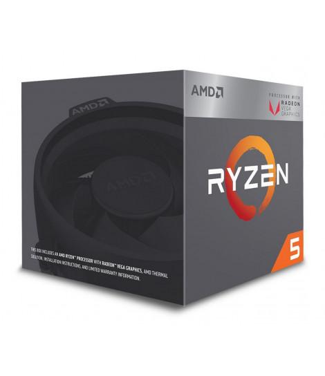 Procesor AMD Ryzen 5 2400G (4M Cache, 3.60 GHz)