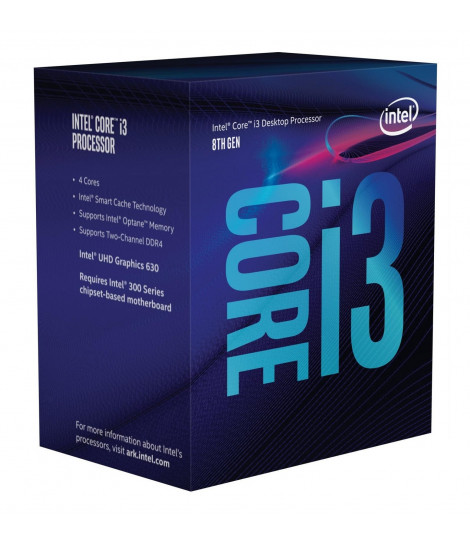 Procesor Intel® Core™ i3-8100 (6M Cache, 3.60 GHz)