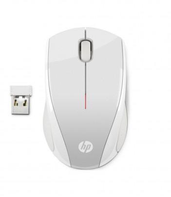 Mysz HP X3000 (biało-srebrna)