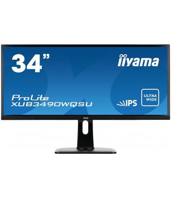 """iiyama 34"""" IPS ProLite XUB3490WQSU-B1"""