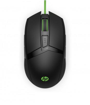 Mysz gamingowa HP Pavilion Gaming 300 (czarno-zielona)