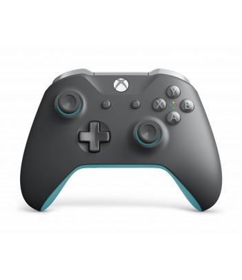 Kontroler bezprzewodowy Microsoft do konsoli Xbox One (szaro-niebieski)