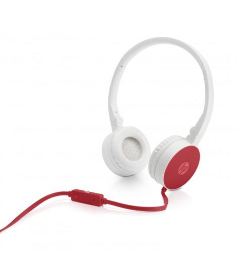 Słuchawki HP H2800 (biało-czerwone)